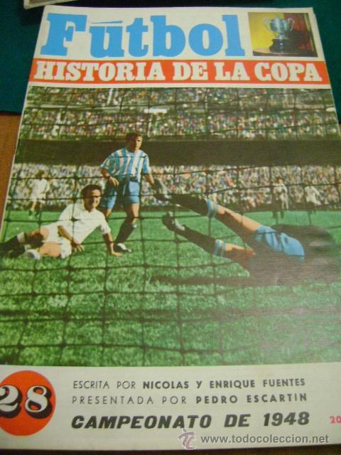 FÚTBOL HISTORIA DE LA COPA Nº 28, 1948 (PIRRI) (Coleccionismo Deportivo - Revistas y Periódicos - otros Fútbol)
