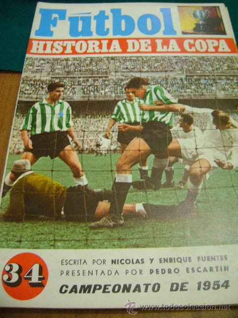 FÚTBOL HISTORIA DE LA COPA Nº 34, 1954 (LUIS SUÁREZ) (Coleccionismo Deportivo - Revistas y Periódicos - otros Fútbol)