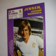 Coleccionismo deportivo: REVISTA REAL MADRID Nº315 AGOSTO 1976 - INCLUYE POSTER JENSEN - REAL MADRID CF - BALONCESTO ........ Lote 37259543