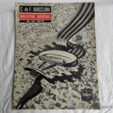 Coleccionismo deportivo: BOLETÍN OFICIAL DEL F.C.B. AÑO I. Nº1. ENERO 1962.. Lote 37444787