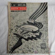 Coleccionismo deportivo: BOLETÍN OFICIAL DEL F.C.B. AÑO I. Nº4. ABRIL 1962.. Lote 37444851