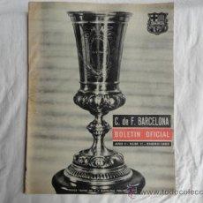 Coleccionismo deportivo: BOLETÍN OFICIAL DEL F.C.B. AÑO II. Nº 11. ENERO 1963.. Lote 37445069