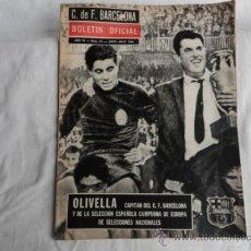 Coleccionismo deportivo: BOLETÍN OFICIAL DEL F.C.B. AÑO III. Nº 25. JUNIO-JULIO 1964.. Lote 37448840