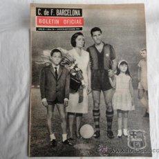 Coleccionismo deportivo: BOLETÍN OFICIAL DEL F.C.B. AÑO III. Nº 26. AGOSTO-SEPTIEMBRE 1964.. Lote 37448877