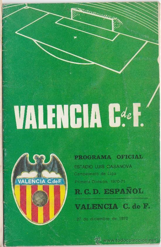 VALENCIA C.F. - PROGRAMA OFICIAL