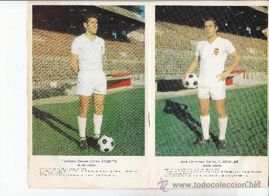 Coleccionismo deportivo: VALENCIA C.F. - PROGRAMA OFICIAL ESPAÑOL-VALENCIA 27/12/1970 - Foto 2 - 37451625