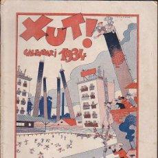 Coleccionismo deportivo: REVISTA DEPORTIVA XUT ALMANAQUE PARA 1934. Lote 37568637