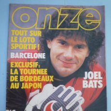 Coleccionismo deportivo: REVISTA ONZE EDICIÓN FRANCIA ESPECIAL BARÇA. Lote 37593699