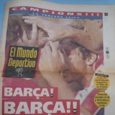 Coleccionismo deportivo: MUNDO DEPORTIVO BARÇA CAMPEÓN LIGA 1993. Lote 37606811