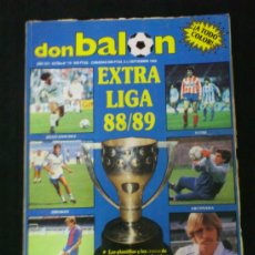 Coleccionismo deportivo: REVISTA DON BALON - EXTRA LIGA 88/89 - AÑO XIV - EXTRA Nº 16 FUTBOL. Lote 87107291
