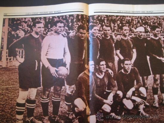 Coleccionismo deportivo: El Correo Catalan 25 de Julio de 1982. Las 9 Ligas del Futbol F.C. BARCELONA. BARÇA - Foto 3 - 37660569