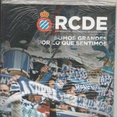 Coleccionismo deportivo: REVISTA OFICIAL DEL RCD ESPANYOL DE BARCELONA RCDE Nº 37 - JUNIO 2011 - PRECINTADA. Lote 37716649