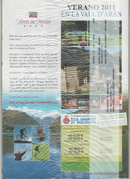 Coleccionismo deportivo: REVISTA OFICIAL DEL RCD ESPANYOL DE BARCELONA RCDE Nº 37 - JUNIO 2011 - PRECINTADA - Foto 2 - 37716649