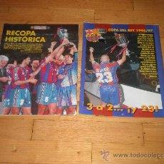 Coleccionismo deportivo: FUTBOL. BARCELONA TEMPORADA 1996/97. DON BALON REVISTA. Lote 37842752