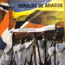 Coleccionismo deportivo: REVISTA MUNDIAL FÚTBOL ESPAÑA 1982 POSTER ARGENTINA CAMPEON MUNDIAL 78. Lote 37862616