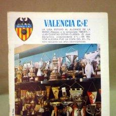 Coleccionismo deportivo: REVISTA DE FUTBOL, VALENCIA CF, Nº 46, ABRIL DE 1981, TROFEOS, REPASO DE LA TEMPORADA. Lote 38202544