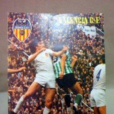 Coleccionismo deportivo: REVISTA DE FUTBOL, VALENCIA CF, Nº 45, MARZO DE 1981, TRASPASO DE MORENA. Lote 38202583