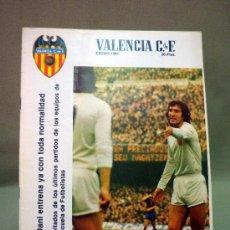 Coleccionismo deportivo: REVISTA DE FUTBOL, VALENCIA CF, Nº 43, ENERO DE 1981, INFORMACION DE LIGA Y COPA. Lote 38202672