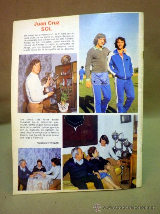Coleccionismo deportivo: REVISTA DE FUTBOL, VALENCIA CF, Nº 40, OCTUBRE DE 1980, OBRAS PARA EL MUNDIAL 82 - Foto 4 - 38203151
