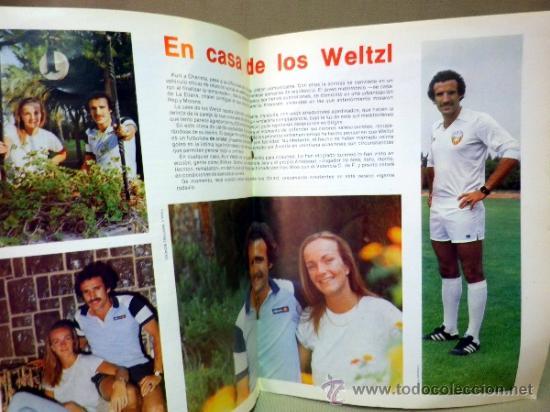 Coleccionismo deportivo: REVISTA DE FUTBOL, VALENCIA CF, Nº 51, SEPTIEMBRE DE 1981, BOHEMIANS DE PRAGA - Foto 4 - 38202475