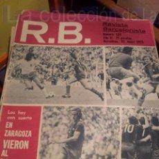 Coleccionismo deportivo: R.B. REVISTA BARCELONISTA Nº 529 - 20 MAYO 1975. Lote 38460823