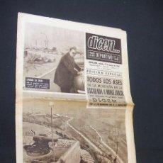 Coleccionismo deportivo: DICEN - TODOS LOS ASES DE LA MONTAÑA EN LA ESCALADA A MONTJUICH - Nº 33 - 13 MARZO 1965 - . Lote 38521028