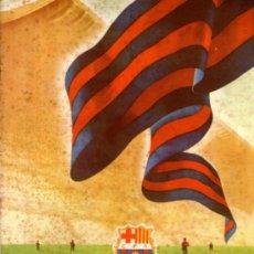 Coleccionismo deportivo: ANTIGUA REVISTA , CLUB DE FUTBOL BARCELONA Nº 11 MAYO - JUNIO 1955. Lote 38612596