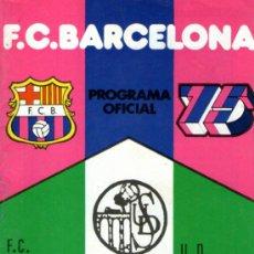 Coleccionismo deportivo: ANTIGUA REVISTA , F.C.BARCELONA PROGRAMA OFICIAL 75 ANIVERSARIO, U.D. SALAMANCA - OCTUBRE 1974. Lote 38612763
