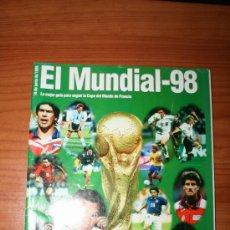 Coleccionismo deportivo: REVISTA ESPECIAL MUNDIAL FRANCIA 98. Lote 38743679