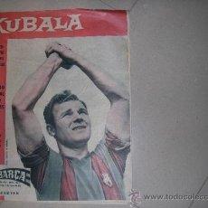 Coleccionismo deportivo: BARÇA AÑO 1961 PORTADA KUBALA ESPECIAL AVENTURA FUTBOLISTICA KUBALA. Lote 38972618
