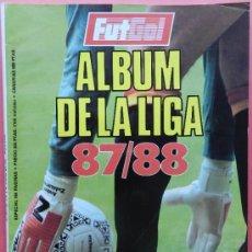 Coleccionismo deportivo: REVISTA ESPECIAL FUTGOL GUIA LIGA 87/88 - EXTRA ALBUM LIGA 1987/1988 - . Lote 38970330