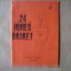 Collezionismo sportivo: 24 HORES DE BASQUET-VILLARREAL,AÑO 1989. Lote 39023053