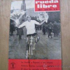 Coleccionismo deportivo: RUEDA LIBRE Nº 28-1959..CICLISMO-LA VUELTA A ESPAÑA.. Lote 39023082