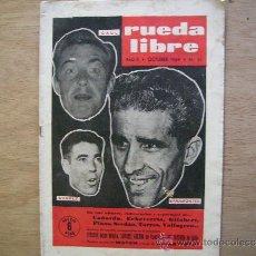 Coleccionismo deportivo: RUEDA LIBRE Nº 33-1959.TRAS LAS DECLARACIONES DE LOUISON BOBET-LOS ACUERDOS DE LA U.C.I.. Lote 39023203