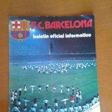 Coleccionismo deportivo: BOLETÍN OFICIAL BARÇA FÚTBOL CLUB BARCELONA NÚM 46 ENERO 1975 1º NUEVA ETAPA LOGO 75º ANIVERSARIO. Lote 76640374