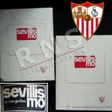 Coleccionismo deportivo: SEVILLISMO 1 AL 32 EN 2 TOMOS - SEVILLA FC REVISTA - FÚTBOL CLUB DEPORTE TOMO REVISTAS FOTOS AÑOS 70. Lote 39077277