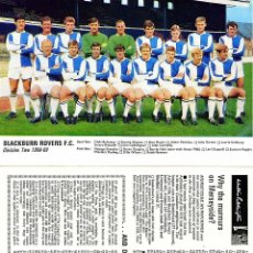 Coleccionismo deportivo: PROGRAMA FUTBOL FOOTBALL LEAGUE REVIEW THE OFFICAL JOURNAL BLACKBURN ROVERS F.C. 1968-69. Lote 39510803