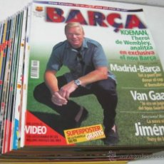 Coleccionismo deportivo: TODAS DEL Nª 1 AL Nº17 - LOTE REVISTAS REVISTA FUTBOL CLUB BARCELONA BARÇA FC 1998/99. Lote 39637160