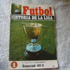 Coleccionismo deportivo: HISTORIA DE LA LIGA N 1 CAMPEON BARCELONA. Lote 39673643