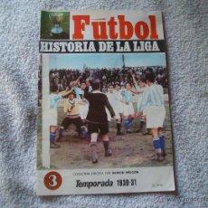 Coleccionismo deportivo: HISTORIA DE LA LIGA N 3 CAMPEON BILBAO. Lote 39673673