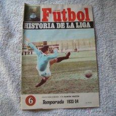 Coleccionismo deportivo: HISTORIA DE LA LIGA N 6 CAMPEON BILBAO. Lote 39673726