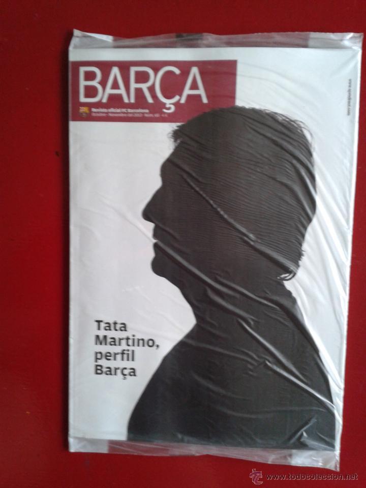 REVISTA OFICIAL BARÇA F.C BARCELONA ESPECIAL TATA MARTINO NOVIEMBRE 2013 NUEVA ENVOLTORIO ORIGINAL (Coleccionismo Deportivo - Revistas y Periódicos - otros Fútbol)