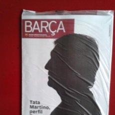 Coleccionismo deportivo: REVISTA OFICIAL BARÇA F.C BARCELONA ESPECIAL TATA MARTINO NOVIEMBRE 2013 NUEVA ENVOLTORIO ORIGINAL. Lote 39665024