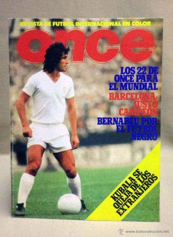 REVISTA DE FUTBOL INTERNACIONAL, ONZE, Nº 3, LOS 22 PARA EL MUNDIAL, ARGENTINA 78 (Coleccionismo Deportivo - Revistas y Periódicos - otros Fútbol)