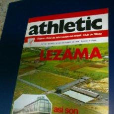 Coleccionismo deportivo: ATHLETIC DE BILBAO REVISTA OFICIAL NUMERO 22, OCTUBRE DE 1974 CON POSTER IRIONDO. Lote 39979451