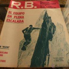 Coleccionismo deportivo: R.B.-REV.BARCELONISTA Nº: 350(14-12-71)-BARÇA 0 VASAS 1 Y CORUÑA 0 BARÇA 2-FOTOS. Lote 54371798