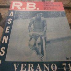Coleccionismo deportivo: R.B.-REV.BARCELONISTA Nº: 330(27-7-71)BARÇA-LOS JUGADORES A EXAMEN-FOTOS. Lote 54372301