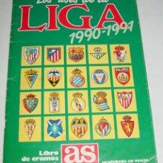 Coleccionismo deportivo: ALBUM DE CROMOS FUTBOL - LOS ASES DE LA LIGA 90 / 91 - COMPLETO CON260 CROMOS.. Lote 38258786