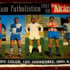 Coleccionismo deportivo: ALBUM FUTBOLISTICO EL ALCAZAR 1967 / 1968 - FUTBOL - COMPLETO, TAL COMO SE VE EN LAS FOTOS PUESTAS -. Lote 38262168