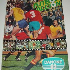 Coleccionismo deportivo: ALBUM CROMOS FUTBOL EN ACCION DANONE 82 - COLECCION DE 96 CROMOS Y LE FALTAN 23 CROMOS.. Lote 38264534